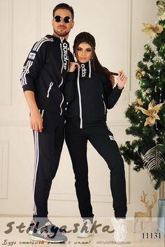 Комплект мужского и женского костюма Адидас синий - купить оптом и розницу  в Украине. Интернет 2922db004b8