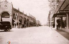 Avenida Morelos. Monterrey, Nuevo León (ca. 1929).