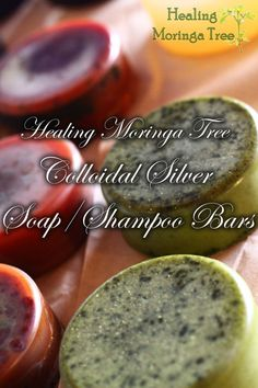 Pure Colloidal Silver Herbal Soap/Shampoo Bar!
