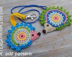 Peces de colores del patrón de ATERGcrochet de ganchillo by ATERGcrochet | Etsy