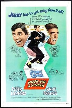 I just added some cool Movie Posters from the 60's to my Ebay store. Genres and themes for everybody! All available for purchase - just click the link below.   HOOK, LINE AND SINKER -1969- Orig 27x41 Movie Poster- JERRY LEWIS, PETER LAWFORD
