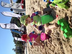 Even the youngest fans had a great time in Palmilla Beach at the SUP Mexico championships.