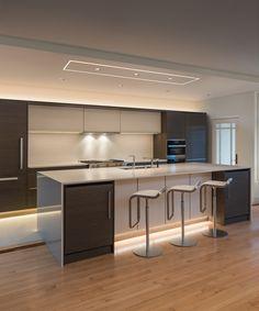 Kitchen LED Lighting Design Idea using TruLine .5A - by Pure Lighting & Trac-Lite by Juno Lighting | Sproing Sport | Chicago | u2022 PORTFOLIO ... azcodes.com