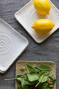 Terraviiva (Kaikki mitä rakastin - Blogi | Lily.fi) Unique Tile, Plates And Bowls, Plastic Cutting Board, Ceramics, Tableware, Setting Table, Tiles, Buildings, Cups