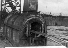 Bergen Belsen, Germany. The crematorium in the camp, April 1945.