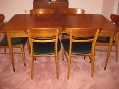 ~~~Lane Mid Century Modern Dining Room Set