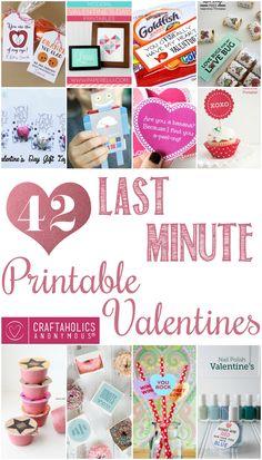 Craftaholics Anonymous® | Last Minute Valentine Ideas