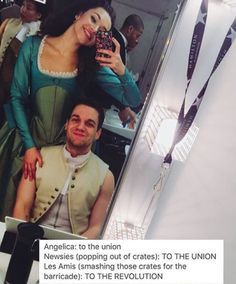 I did theatre with that guy!!! He was on Broadway playing the main guy in Waitress and now he is in Hamilton!!! Miss ya Ryan!!!