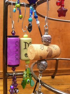 cork ornaments by sarahracha, via Flickr