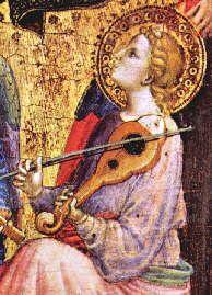 Vierge à l'enfant entourée d'anges vers 1385  Musée du Petit Palais-Avignon - Pinterest