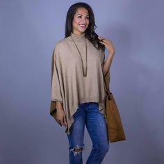 Simply Lovely. This poncho is a different color in the back than it is in the front! It's a great transition piece to get you into fall. www.shopelysian.com Reverse Poncho in Beige/Camel $72. online  in-store. Multi Chain Necklace 40% Off --> NOW $31.20! in-store only. Portra Slim Boyfriend Jeans $82. in-store only. #WearElysianDaily http://ift.tt/2h8dQCM Simply Lovely. This poncho is a different color in the back than it is in the front! It's a great transition piece to get you into fall…