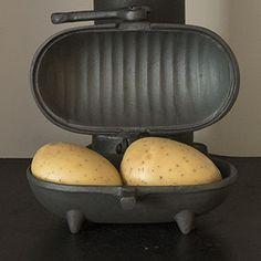 Cast Iron Baked Potato Cooker