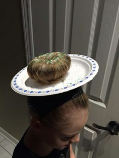 Crazy hair day at school.... DONUT ANYONE?