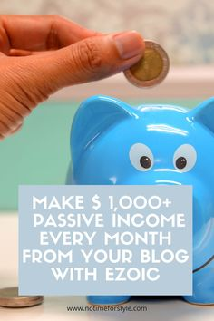 Earn more with your blog using Ezoic instead of Google Adsense. A complete Ezoic review. #money #blogging #onlinebusiness #blog