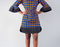 Robe de Ankara robe imprimé africain par MADKollection sur Etsy