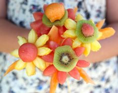 Fruity flowers for Mother's Day
