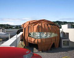 The Rock at Wellington International Airport in Wellington, New Zealand
