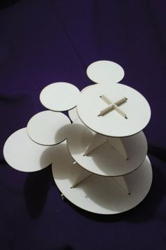 Cupcake stand mickey mouse by promacraft on Etsy Mickey Baby Showers, Baby Mickey, Mickey Mouse Birthday, Party Themes, Theme Parties, Disney Crafts, Wooden Crafts, Coupon Codes, Centerpieces