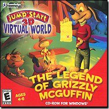 Jumpstart 3D Virtual World The Legend of Grizzly McGuffin *** Want to know more, click on the image.