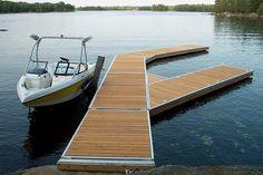 Morrison Lake  Custom Floating Dock