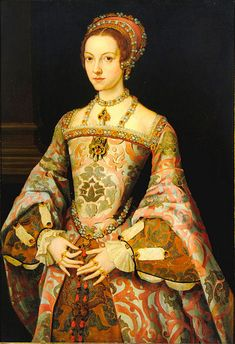 Katherine Parr (1512-1548). She was the daughter of Sir Thomas Parr and his wife, Maud Green. She was Mistress Burgh (1529-1533) as the wife of Sir Edward Burgh; Baroness Latimer (1534-1543) as the wife of John Neville, 3rd Baron Latimer; Queen of England and Ireland (1543-1547) as the wife of King Henry VIII; Baroness Seymour of Sudeley (1547-1548) as the wife of Thomas Seymour, 1st Baron Seymour of Sudeley.