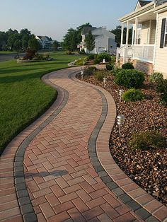 herringbone brick walkway - Google Search