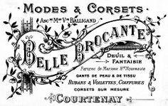 Belle Brocante Modes & Corsets
