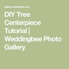 DIY Tree Centerpiece Tutorial | Weddingbee Photo Gallery