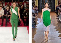 Acne - Stella McCartney, el color del 2013 #Verde #Esmeralda