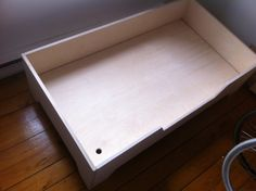 DIY Projects: DIY Toddler bed with birch plywood Toddler Floor Bed, Diy Toddler Bed, Diy Bed, Some Pictures, Plywood, Quilt Patterns, To My Daughter, Kids Room, Diy Projects