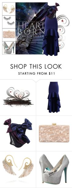 """""""Book Look: Heartborn By Terry Maggert"""" by xmikky ❤ liked on Polyvore featuring Chicwish, D&G, Edie Parker, Noor Fares and Betsey Johnson"""