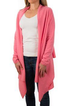 6b2a4c35ed4 Cashmere Wrap - Poppy Pink