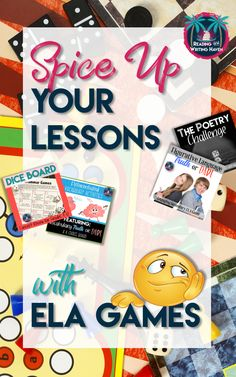 Grammar, vocabulary, writing, figurative language - English lessons can be engaging and meaningful with these ELA games from Reading and Writing Haven. The bundle currently contains 8 games covering grammar, figurative language, vocabulary, and writing. It's great for test prep or to review at the end of a unit. #highschoolenglish #games