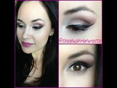 TUTORIAL: CRANBERRY EYES WITH BERRY LIPS 💜 - YouTube