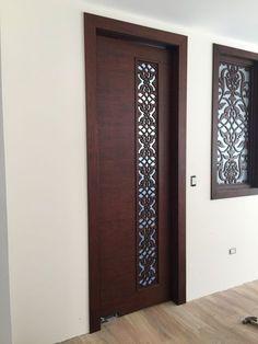 70 Super ideas for safety door design entrance Pooja Room Door Design, Bedroom Door Design, Door Design Interior, Interior Exterior, Interior Modern, Interior Doors, Wooden Front Door Design, Double Door Design, Wooden Doors