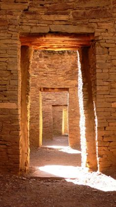 Life is a series of thresholds we must cross to live life fully....Pueblo Bonito, Chaco Canyon National Park, New Mexico (UNESCO World Heritage Site). Photo: Tanya Ortega de Chamberlain