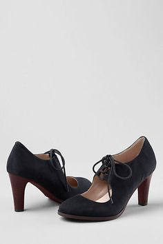 Women's Remy High Heel Ghillie Lace-up shoes from Lands' End