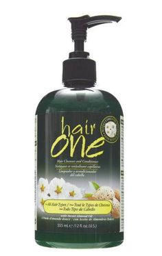Hair One Cleansing Conditioner... AMAZZZINNGG! My FAVORITE next to the hair products I use from Organix! love, love, love!