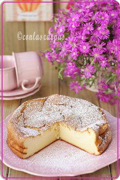 Japanese cheesecake {by Paula, Con las Zarpas en la Masa}