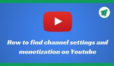 How can Monetize The Youtube Channel Channel, Canning, News, Youtube, Home Canning, Youtubers, Youtube Movies, Conservation