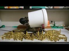 homemade stainless media brass tumbler - YouTube