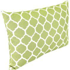 Rectangle Outdoor Toss Pillow, Courtyard Trellis. 19