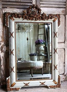 Lovely French Mirror ~ Ana Rosa