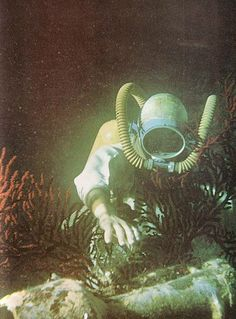 [the ocean world of Jacques Cousteau]
