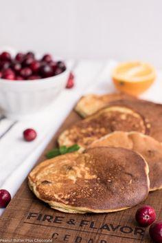 Healthy Cranberry Orange Pancakes – ciarra