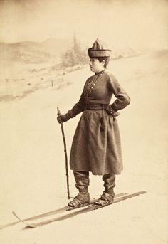 Eva Nansen, det var ikke bare ektemannen som hadde tæl i familien.