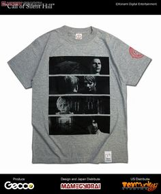 [close] Gecco x Mamegyorai Life Maniacs/ T-Shirts Silent Hill :Call of Silent Hill Heather gray S (Anime Toy) Item picture1