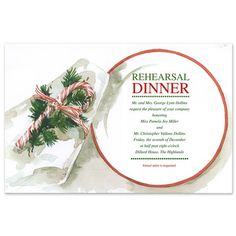 Top Pinned Product This Week: Peppermint Dinner Invitations - Odd Balls (finestationery.com)