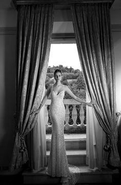 glittering wedding dress by @Roberta Causarano Cruz