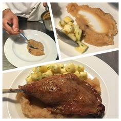 Svatomartinská husa Steak, Pork, Kale Stir Fry, Steaks, Pork Chops